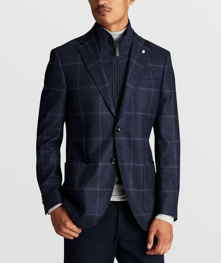 Windowpane Wool Sports Jacket image 3