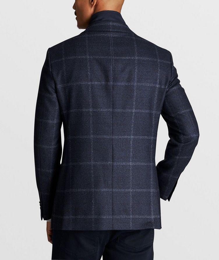 Windowpane Wool Sports Jacket image 4