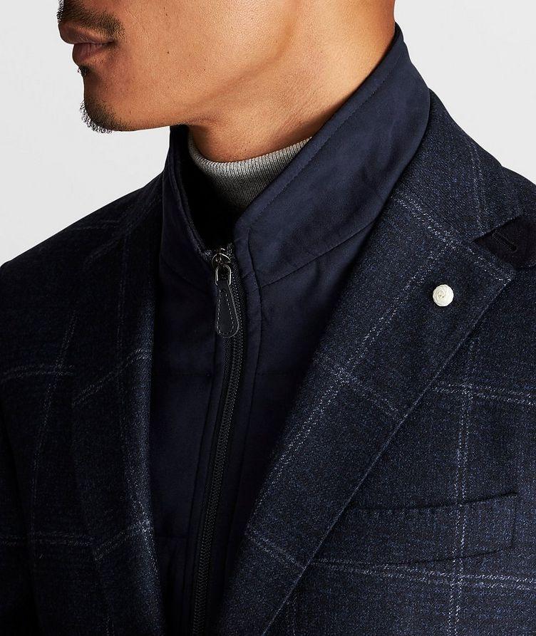 Windowpane Wool Sports Jacket image 5