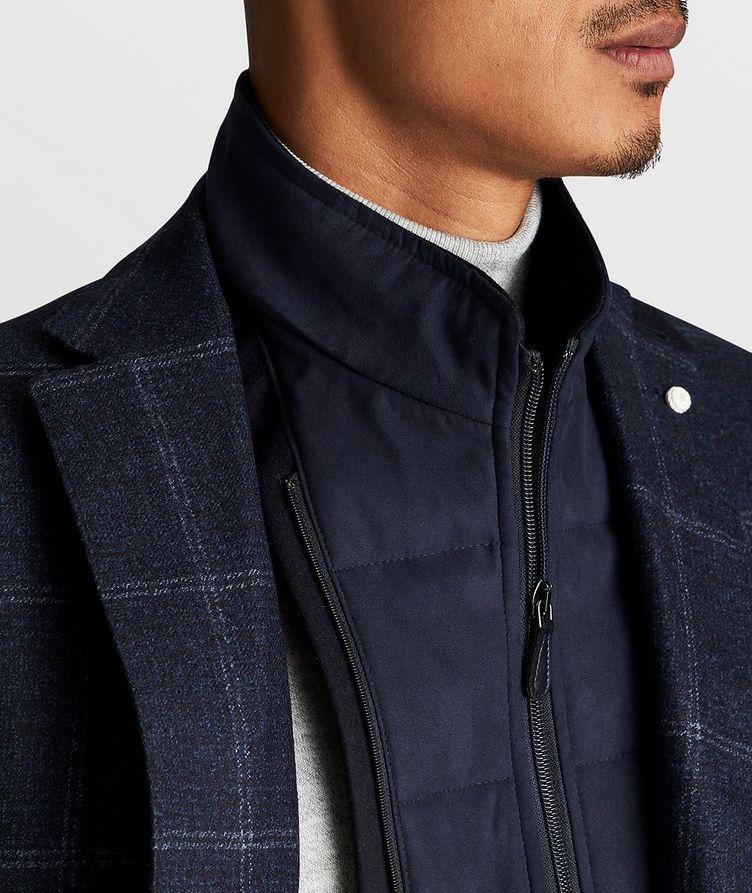 Windowpane Wool Sports Jacket image 6