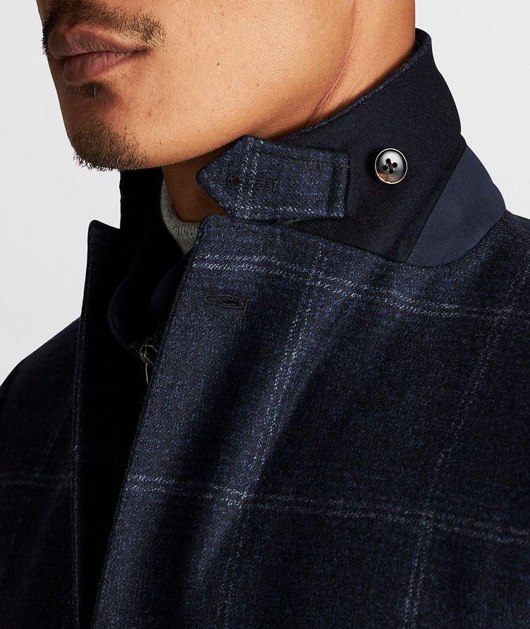 Windowpane Wool Sports Jacket image 7