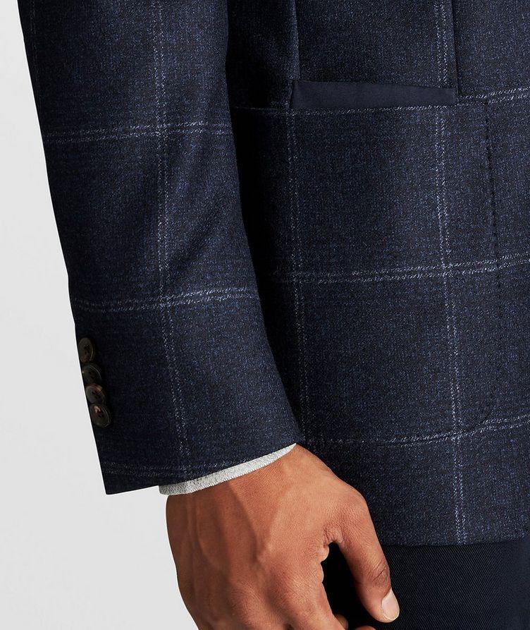 Windowpane Wool Sports Jacket image 8