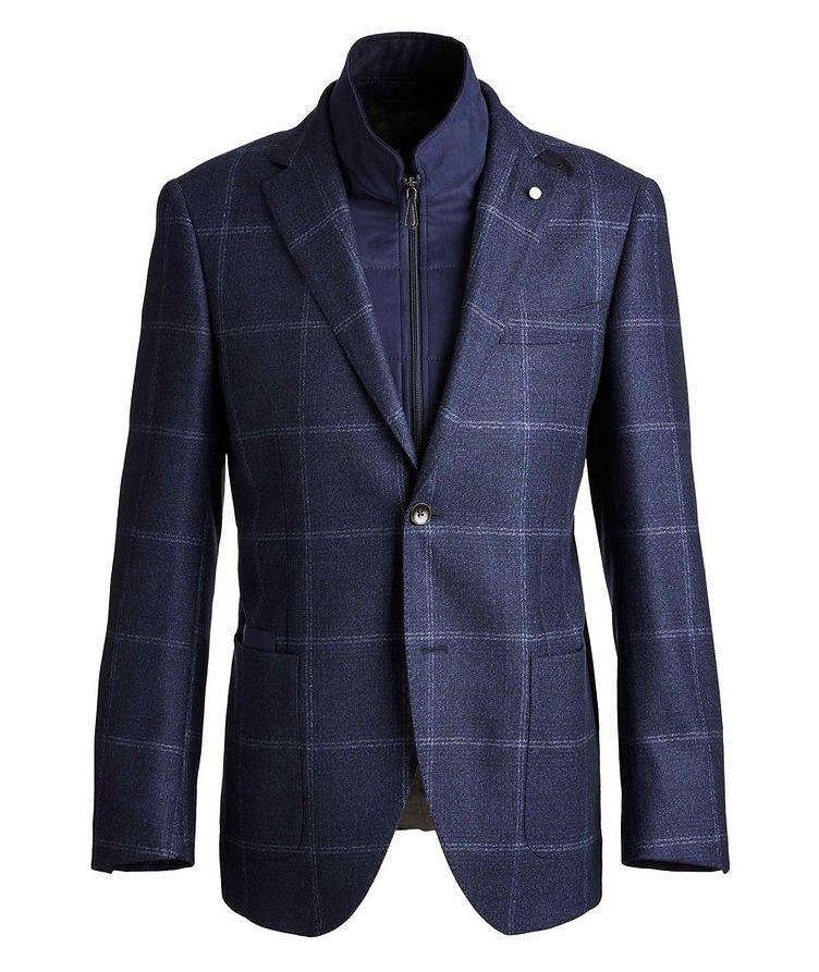 Windowpane Wool Sports Jacket image 0
