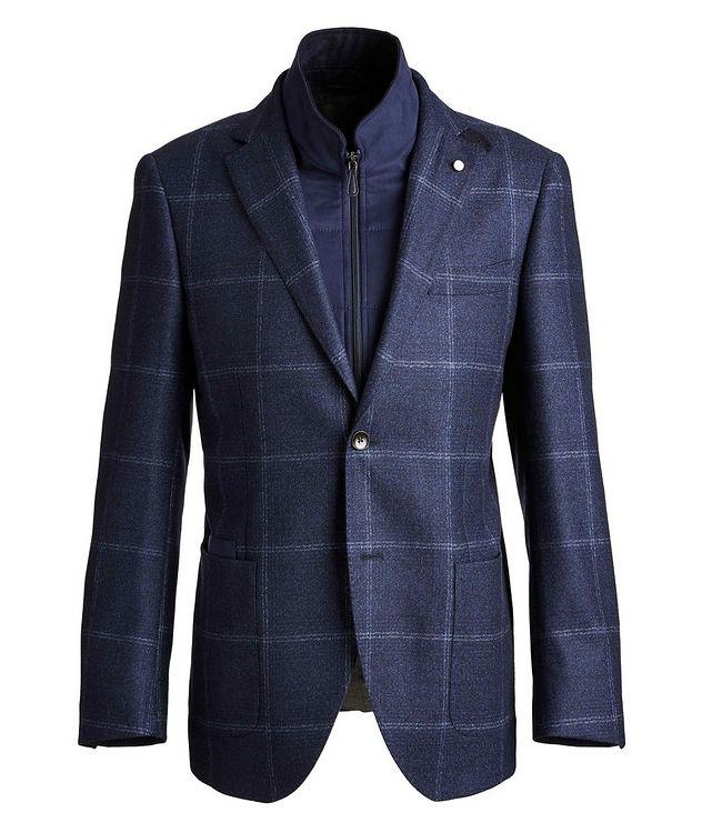 Windowpane Wool Sports Jacket picture 1