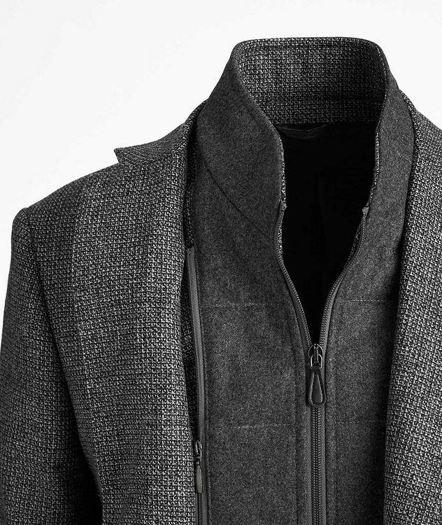 Veston en laine et cachemire picture 2