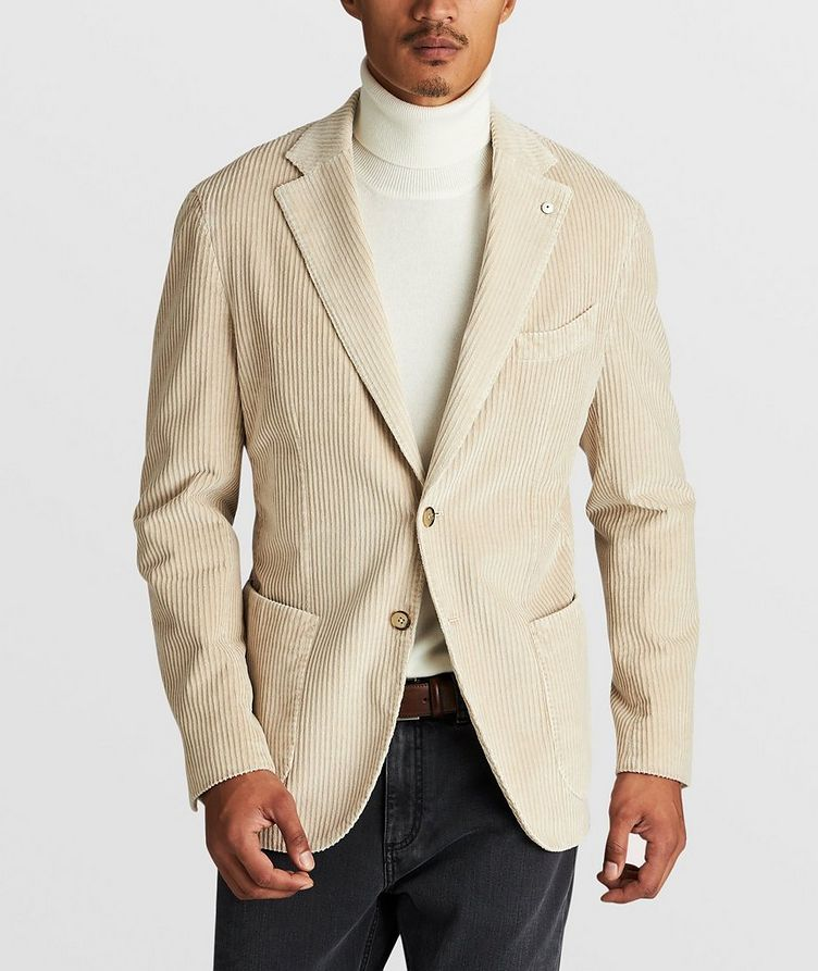 Stretch-Corduroy Sports Jacket image 1
