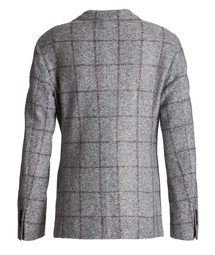 Windowpane Wool-Blend Sports Jacket image 1