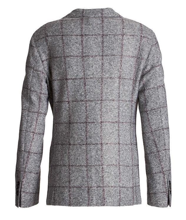 Windowpane Wool-Blend Sports Jacket picture 2