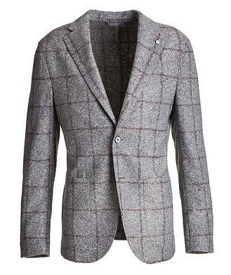 L.B.M. 1911 Windowpane Wool-Blend Sports Jacket