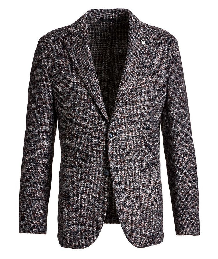 Tweed Wool-Blend Sports Jacket image 0