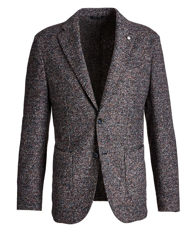Tweed Wool-Blend Sports Jacket picture 1
