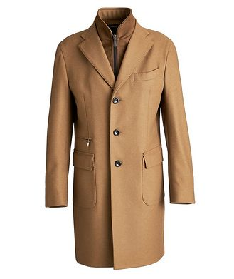 Harry Rosen Wool-Cashmere Overcoat