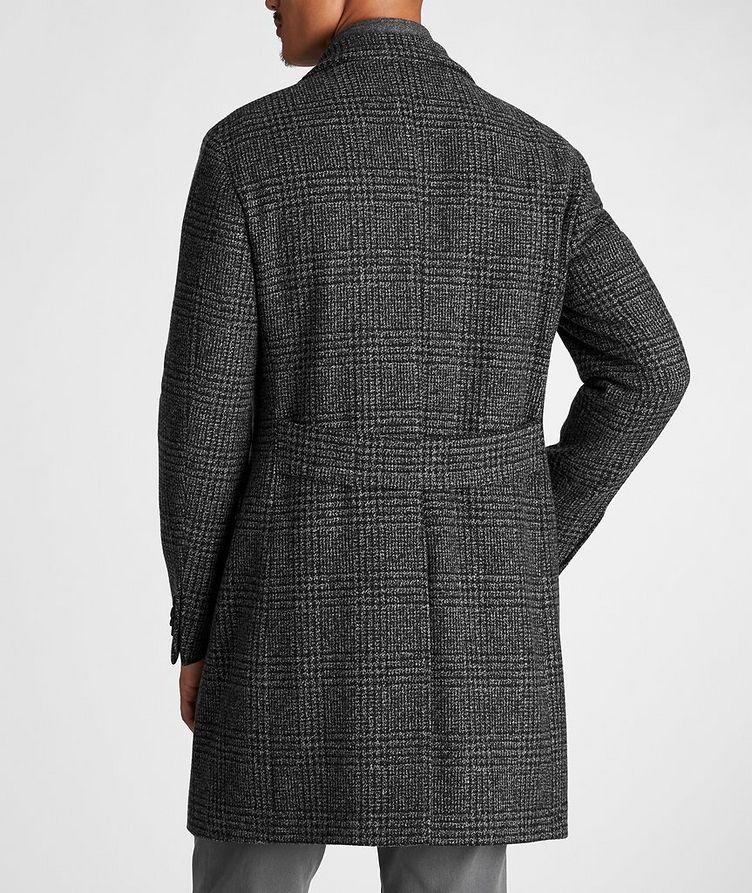 Checked Virgin Wool Overcoat image 2