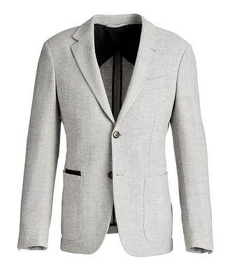 Ermenegildo Zegna Trofeo Wool-Cashmere Sports Jacket