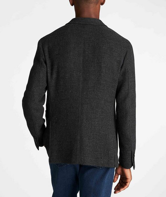 Unstructured Alpaca-Wool Sports Jacket picture 3