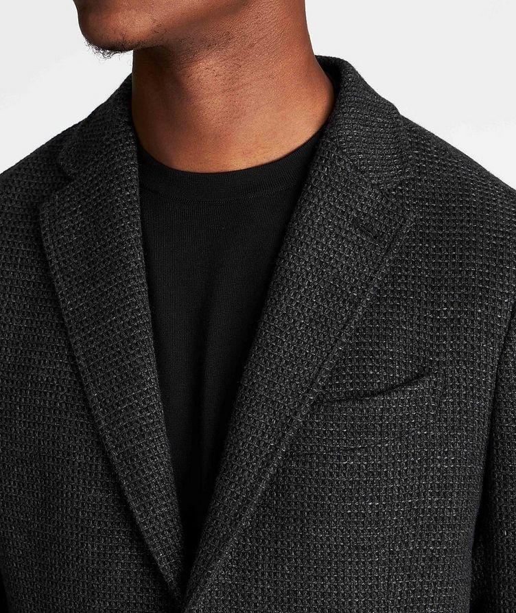 Unstructured Alpaca-Wool Sports Jacket image 3