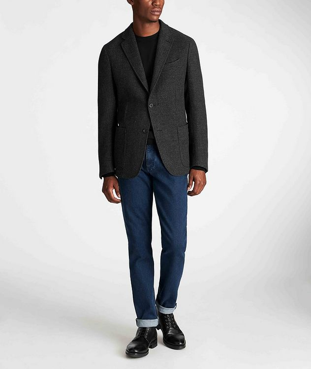 Unstructured Alpaca-Wool Sports Jacket picture 5