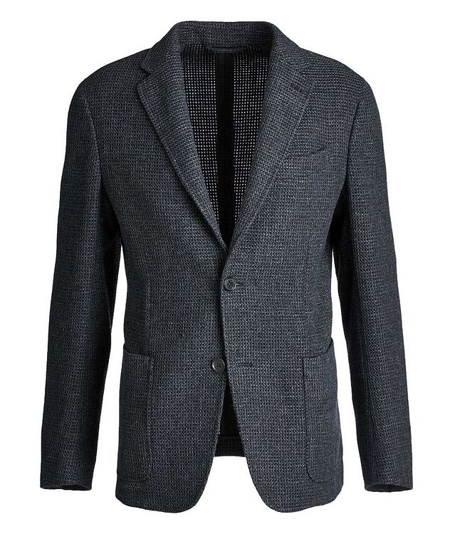Unstructured Alpaca-Wool Sports Jacket picture 1