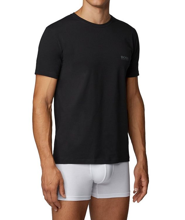2-Pack Stretch-Cotton T-Shirts picture 2