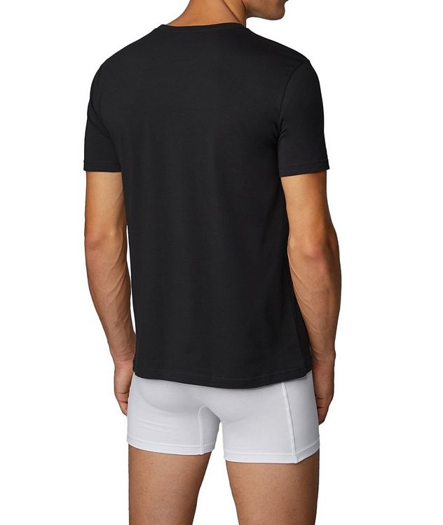 2-Pack Stretch-Cotton T-Shirts picture 3