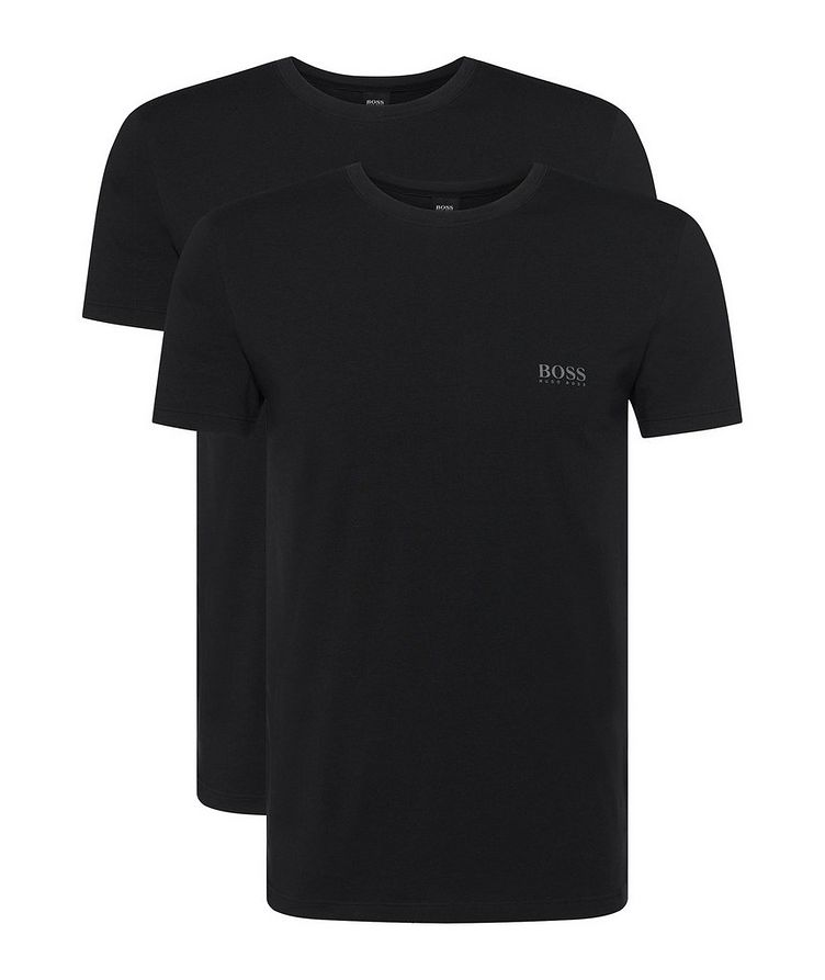 2-Pack Stretch-Cotton T-Shirts image 0