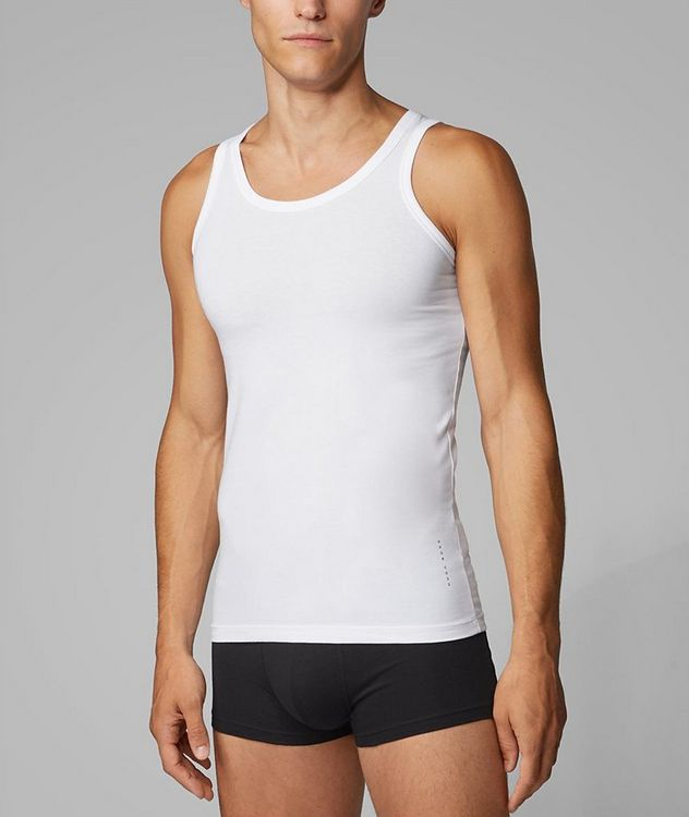 2-Pack Stretch-Cotton Undershirts picture 2