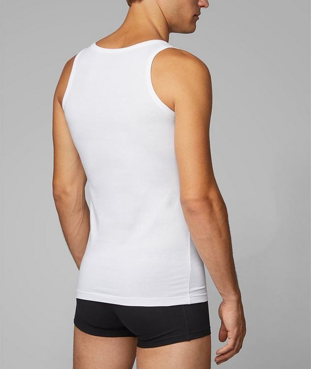 2-Pack Stretch-Cotton Undershirts picture 3