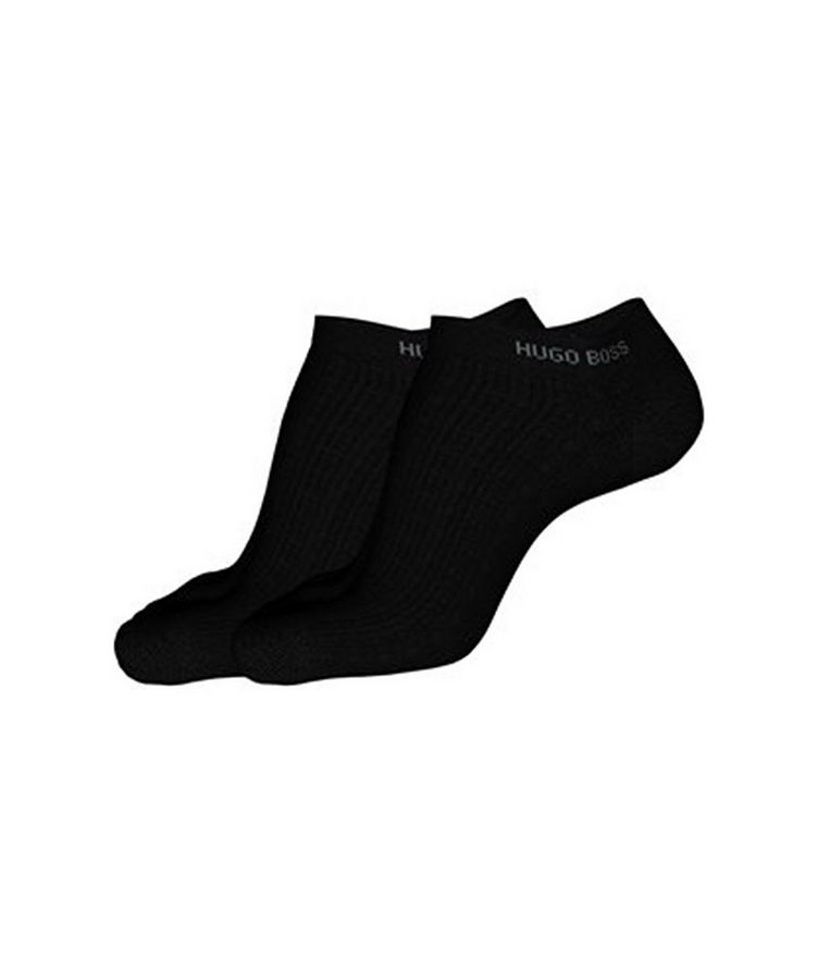 2-Pack Stretch-Cotton Ankle Socks image 2