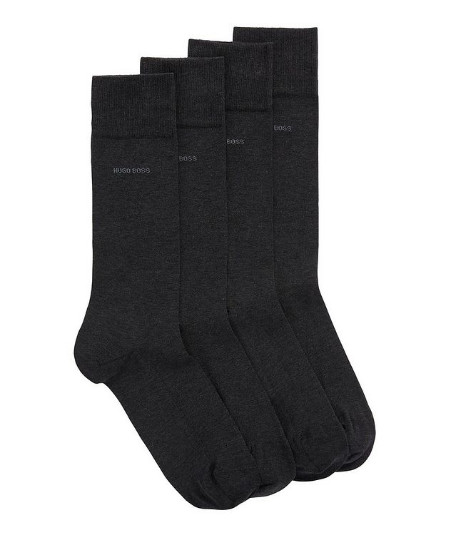 2-Pack Mercerized-Cotton Socks picture 1