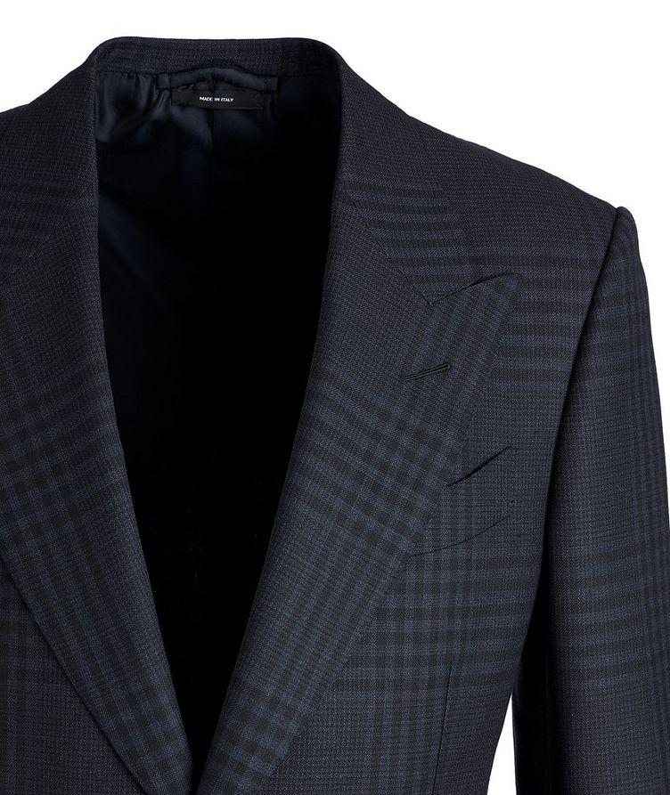 Shelton Plaid Wool-Mohair Sports Jacket image 1