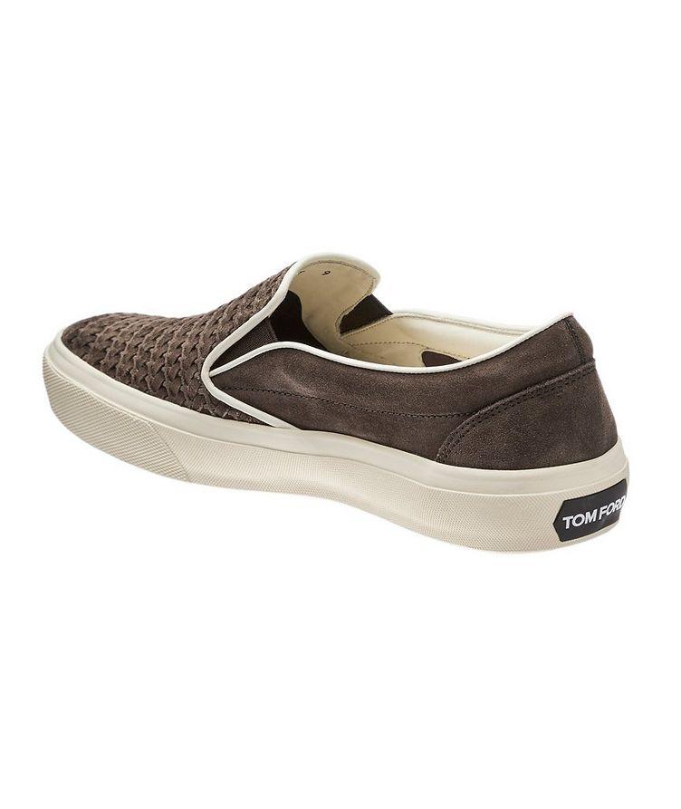 Chaussure sport en suède image 1