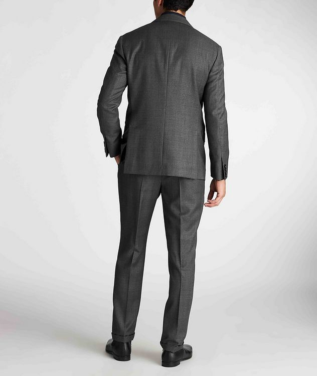 Contemporary Fit Checked Suit picture 3