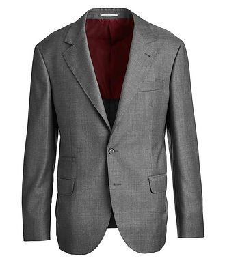 Brunello Cucinelli Contemporary Fit Checked Suit