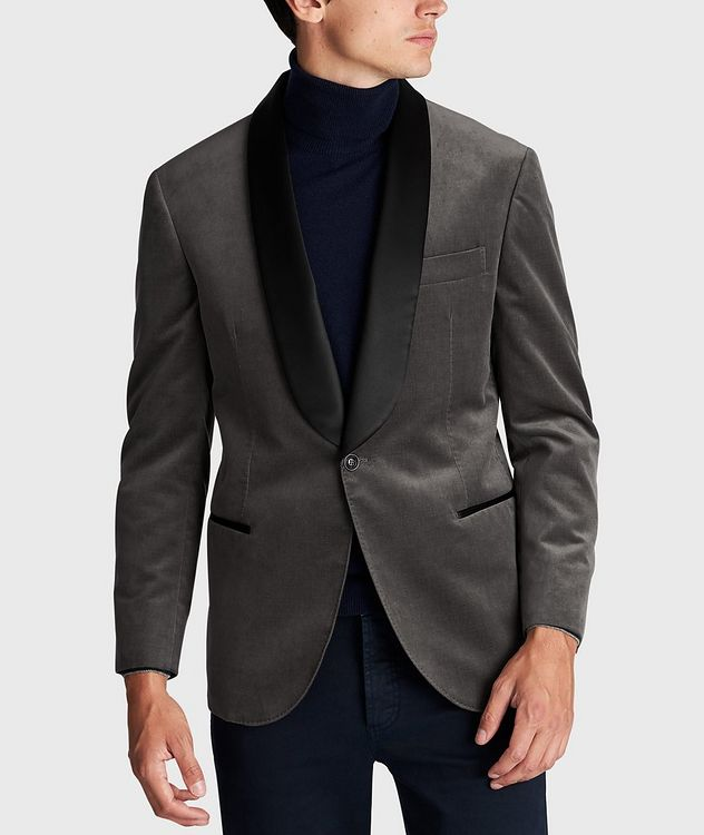 Velvet Tuxedo Jacket picture 2