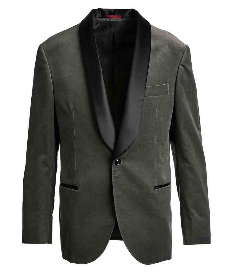 Velvet Tuxedo Jacket image 0