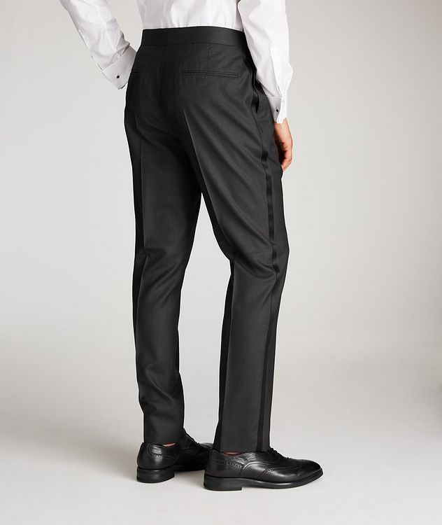 Wool-Silk Tuxedo Trousers picture 2