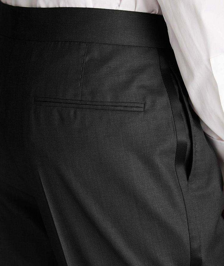 Pantalon de soirée en laine et soie image 3