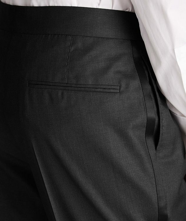 Wool-Silk Tuxedo Trousers picture 4