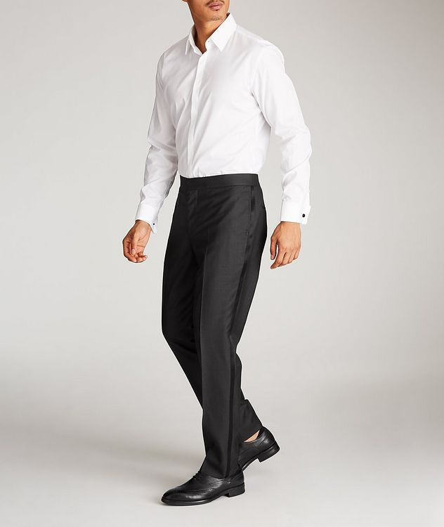 Wool-Silk Tuxedo Trousers picture 5