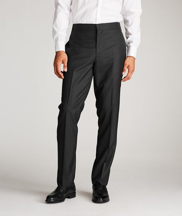 Wool-Silk Tuxedo Trousers picture 1
