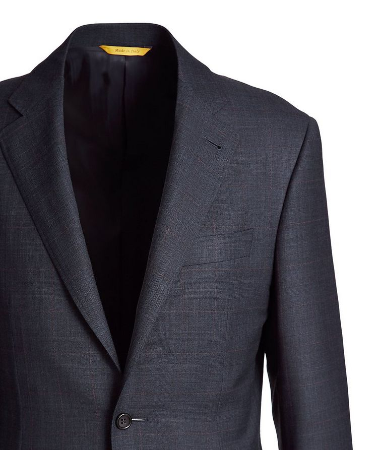 Kei Windowpane Wool Suit image 1