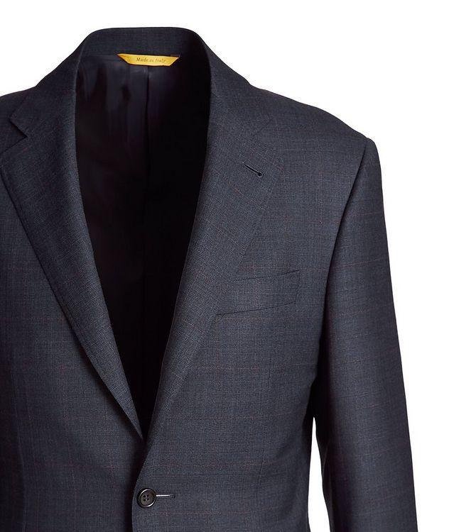 Kei Windowpane Wool Suit picture 2