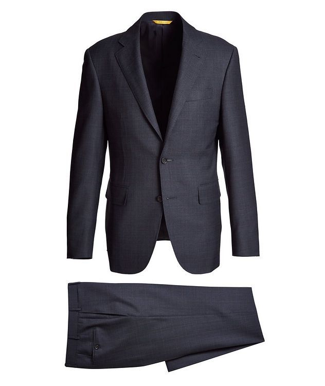 Kei Windowpane Wool Suit picture 1