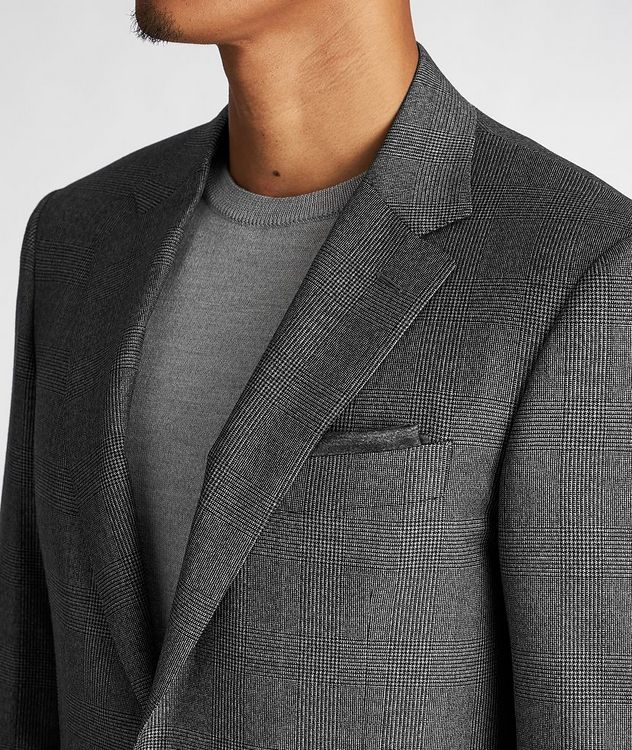 Contemporary Fit Checked Suit picture 4