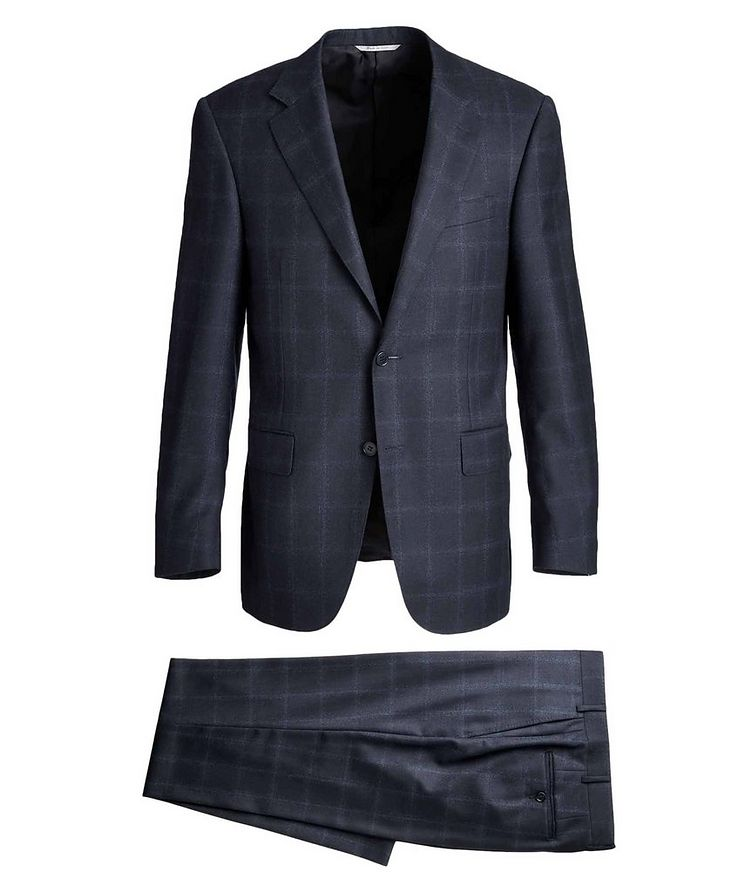 Contemporary Fit Windowpane Suit image 0