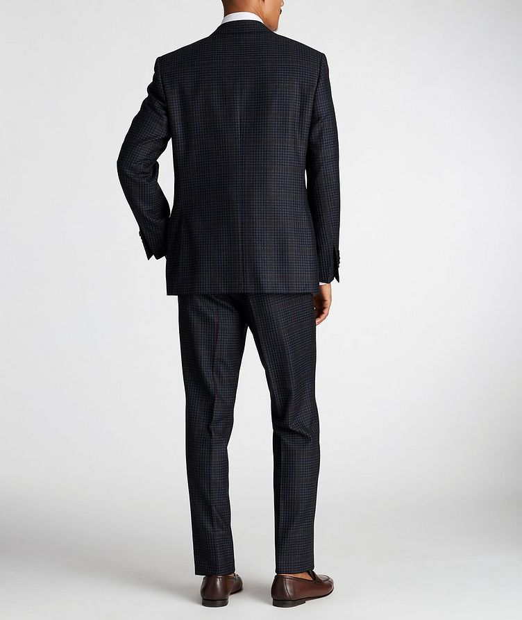 Contemporary Fit Checked Suit image 2