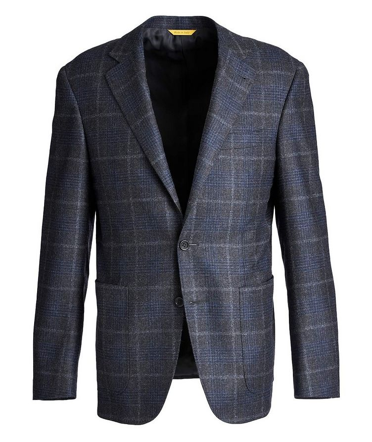 Kei Checked Wool-Cashmere Sports Jacket image 0