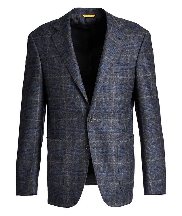 Kei Checked Wool-Cashmere Sports Jacket picture 1