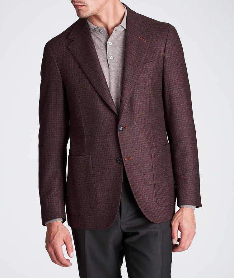Contemporary Fit Wool-Silk Sports Jacket image 1