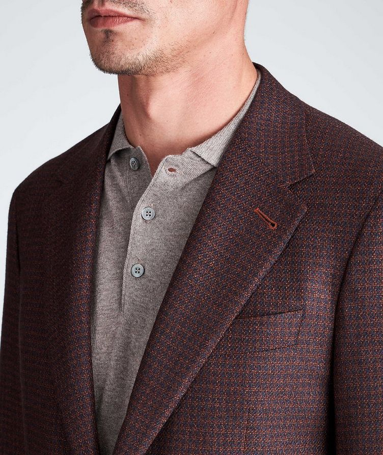 Contemporary Fit Wool-Silk Sports Jacket image 3